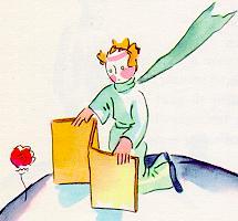 小王子 小王子图片 玫瑰花讨厌过堂风