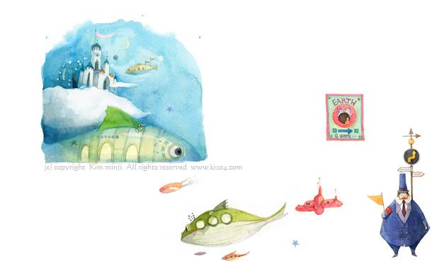 小王子 小王子图片 小王子唯美韩版插画