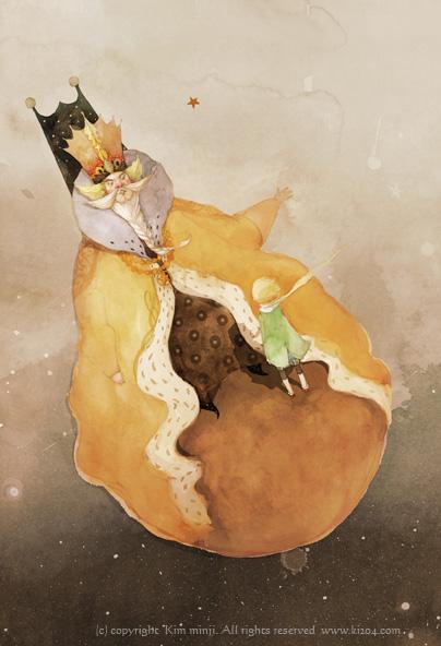 小王子 小王子图片 国王