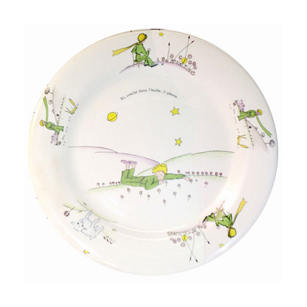 小王子 小王子图片 小王子餐具:大餐盘