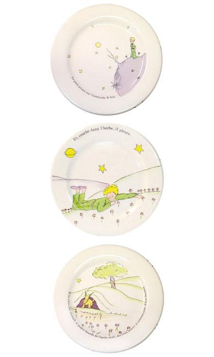 小王子 小王子图片 小王子餐具:面包盘